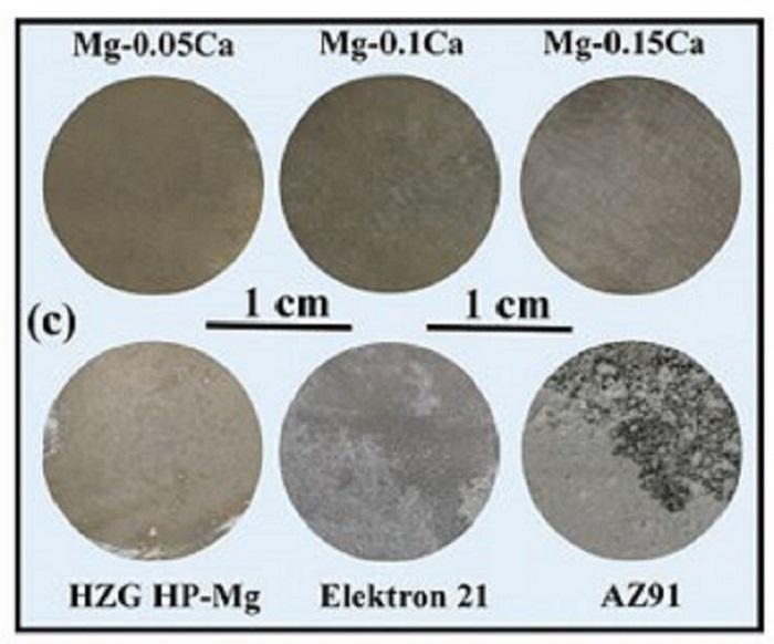 Yeni Magnezyum Alaşımı Mükemmel Korozyon Dayanımı Gösteriyor