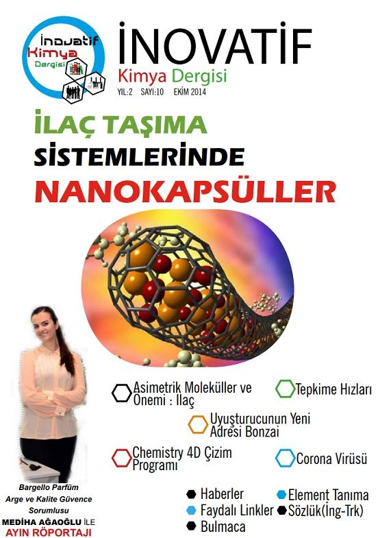 İnovatif Kimya Dergisi Sayı-15