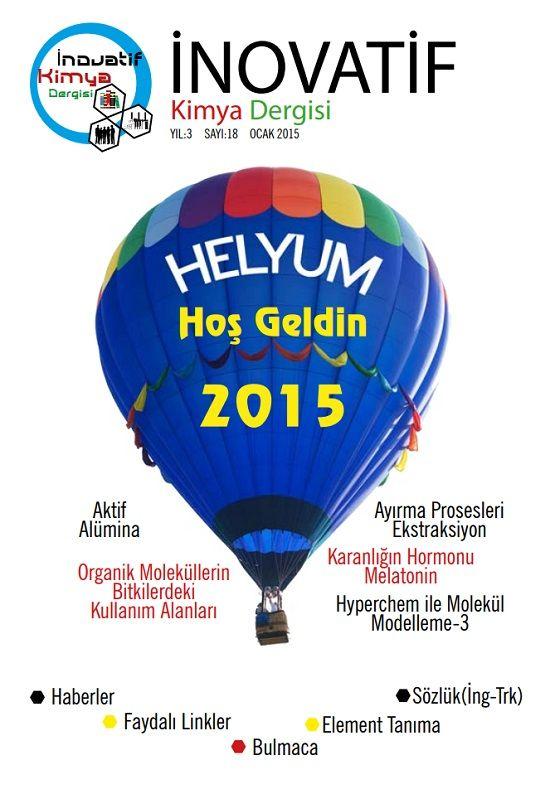 İnovatif Kimya Dergisi Sayı-18