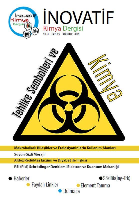 İnovatif Kimya Dergisi Sayı-25