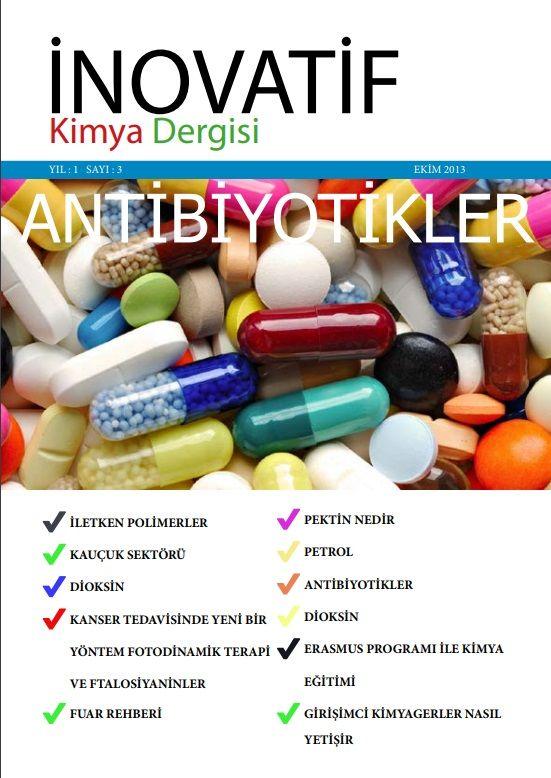 İnovatif Kimya Dergisi Sayı-3