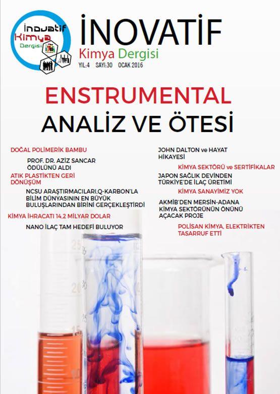 İnovatif Kimya Dergisi Sayı-30