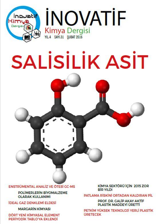 İnovatif Kimya Dergisi Sayı-31