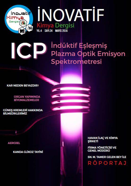 İnovatif Kimya Dergisi Sayı-34