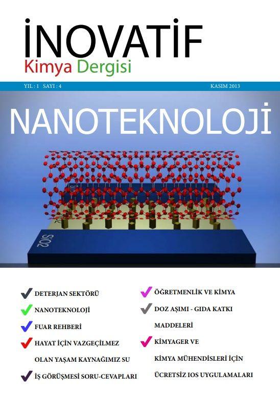 İnovatif Kimya Dergisi Sayı-4