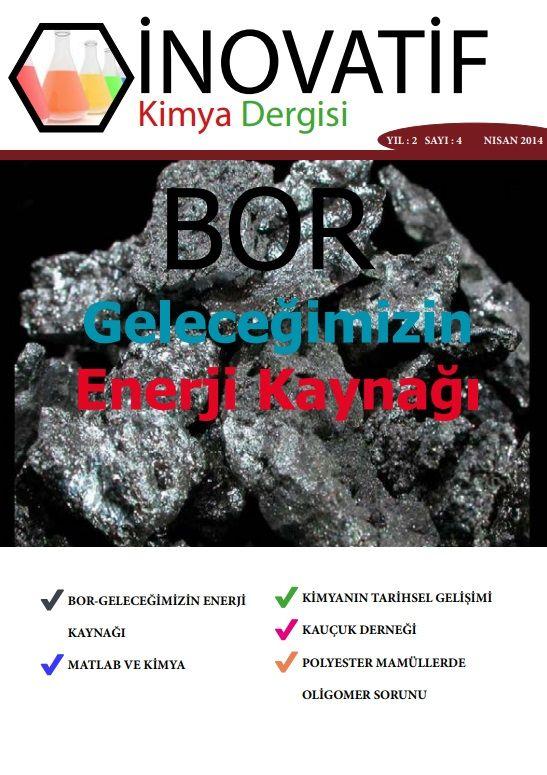 İnovatif Kimya Dergisi Sayı-9